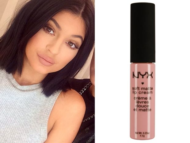 Copy Kylie Jenner's matte nude pout with NYX's Soft Matte Lip Cream. Need need need