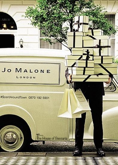 Jo Malone London offers same day delivery
