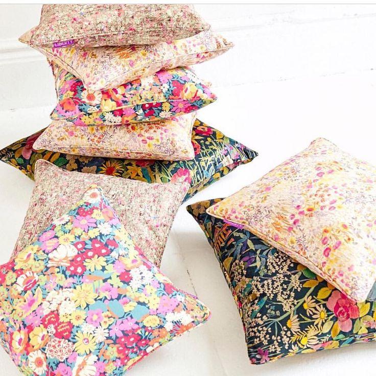 On my holiday agenda - checking out the new line of @libertylondon pillows @abccarpetandhome #GoGpicks #interiordesign #decor #libertyaddict #girlsongreenwich