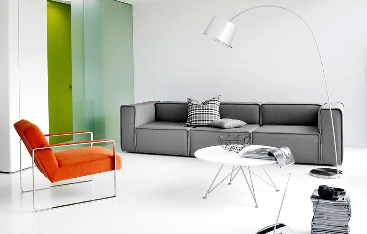 Die besten 25+ Orange sofaer Ideen auf Pinterest Orange stue - wohnzimmer orange grau