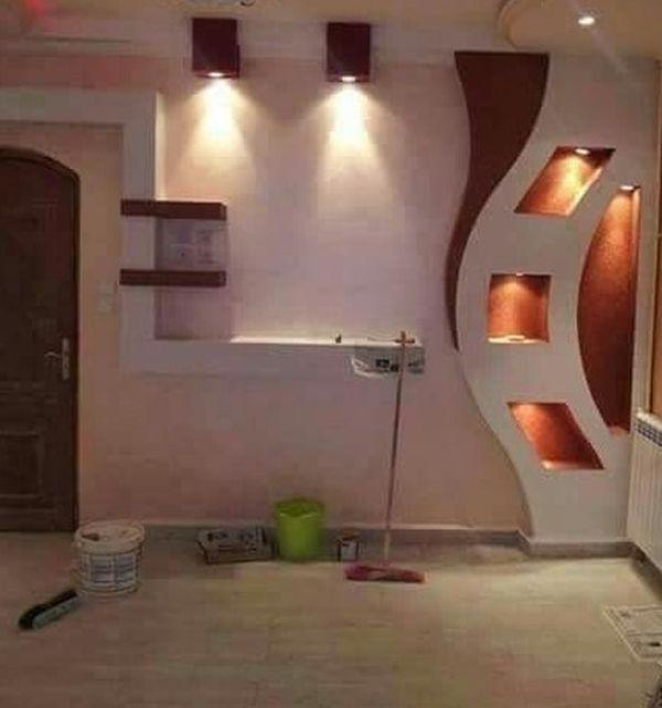 56 best niş images on Pinterest Ceiling design, Tv units and False