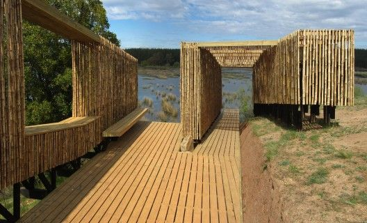 Name Observatory, birdwatching circuit in Cauquenes, Chile. By Mauricio Orlando Rojas Riquelme.