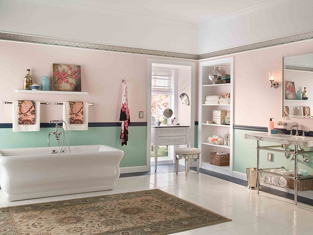 We Love This 1920u0027s Period Style Bath  Feminine And Lovely. Nice Look