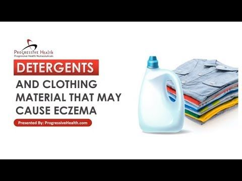 Detergents and Clothing Material That May Cause Eczema - Your choice of clothing material can either help or worsen your eczema. Clothes have been shown to contribute to skin diseases such as eczema.   In addition, the harsh chemicals found in the laundry detergents and fabric softeners you use on your clothes can slowly irritate your skin and cause eczema flare-ups.   Learn everything you need to know about how natural and hypoallergenic soaps can help and why bleach may be the solution.