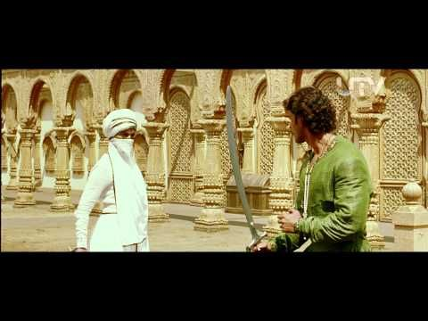 ▶ Jodhaa Akbar   2008   Sword Fight Scene   Hrithik Roshan - Aishwarya Rai - YouTube
