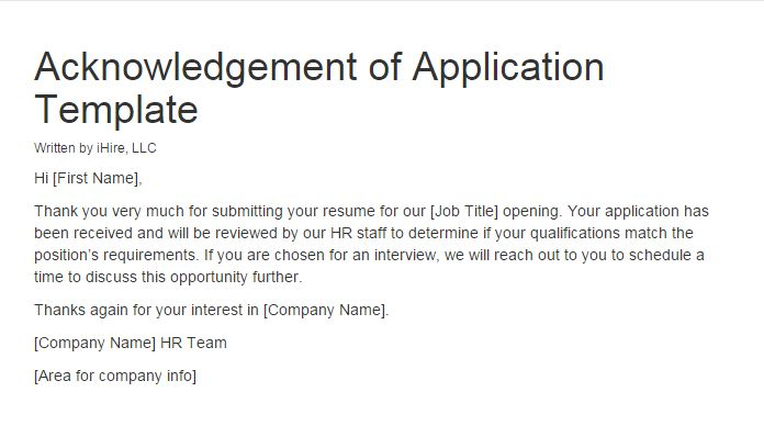 application acknowledgement letter northeastern
