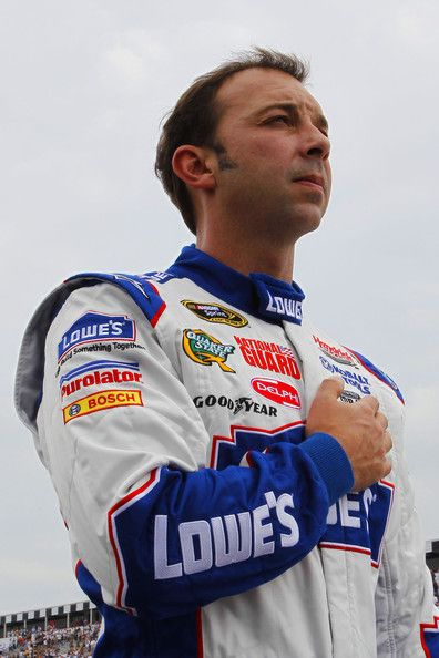 chad knaus | Chad Knaus Chad Knaus, crew chief of the #48 Lowe's Chevrolet, stands ...