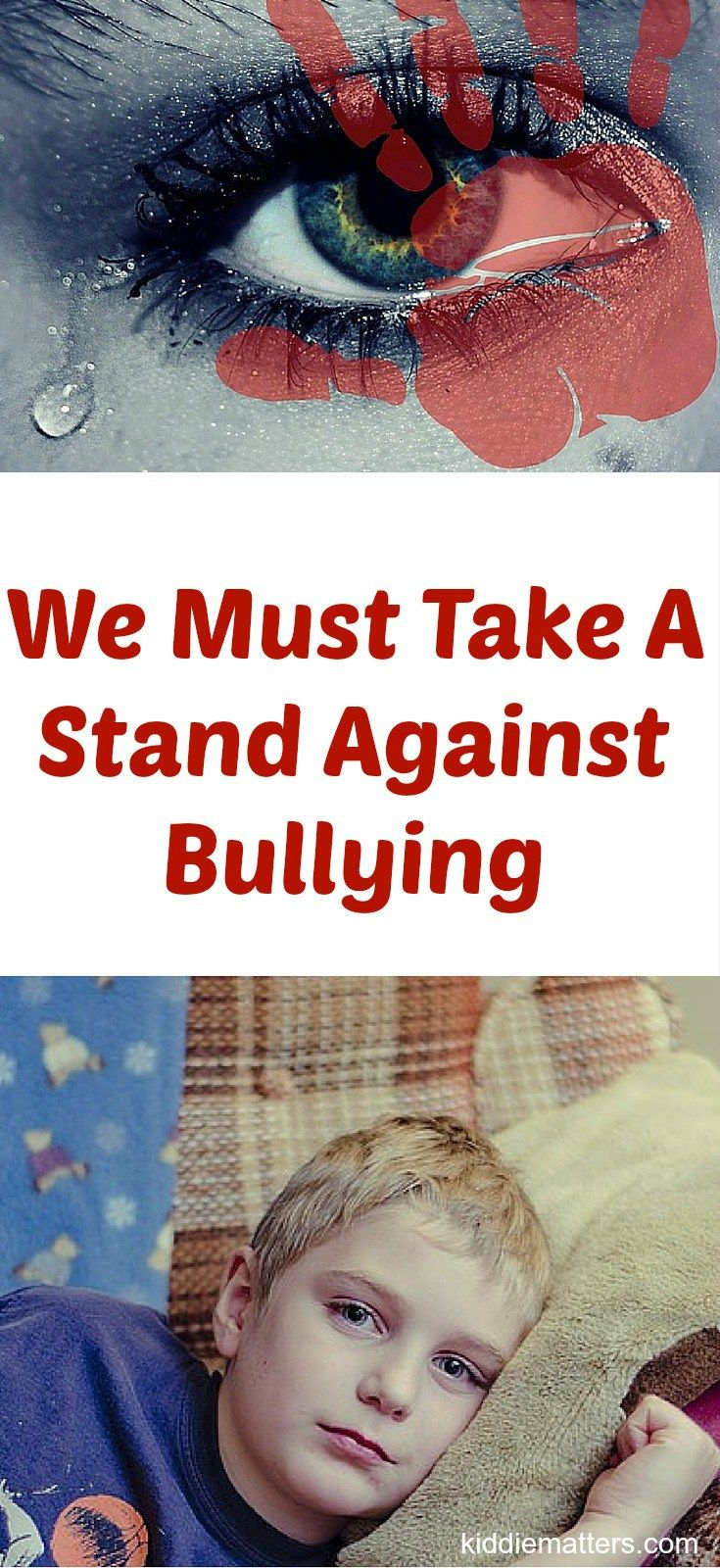 We Must Take A Stand Against Bullying