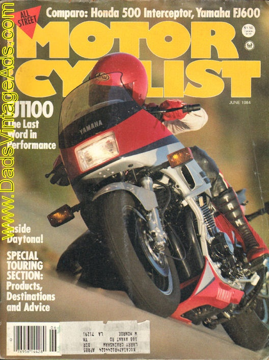 1984 Yamaha FJ1100 – The last word in performance