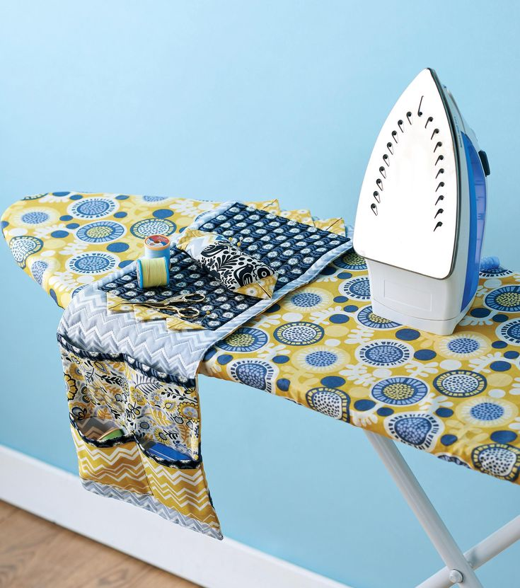 Ironing Board Cover and Caddy - do i need to say it? Would love in blue or blue and white