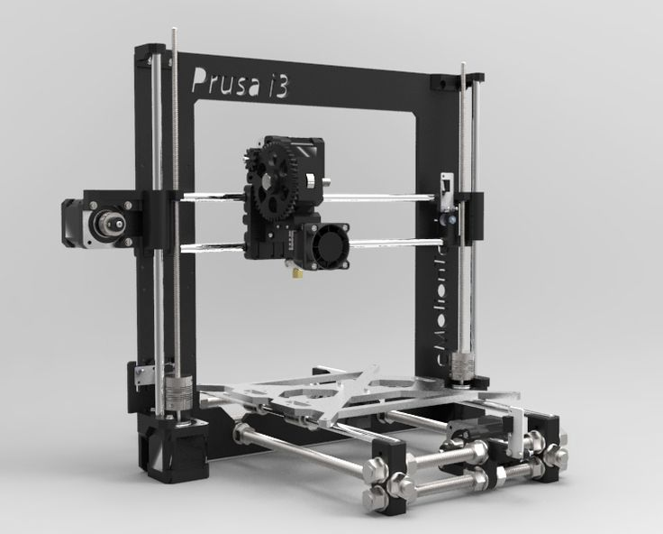 Prusa i3 Rework by eMotion-Tech.