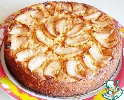 """Пирог морковно-яблочный """"Осень"""" ингредиенты"""