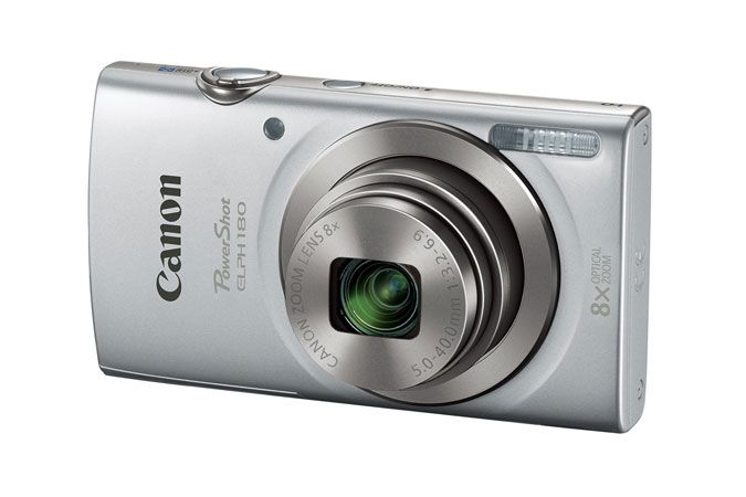 Canon PowerShot ELPH 180 Silver| Canon Online Store