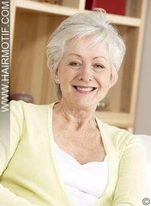 short thick gray hairstyles for women over 50  short