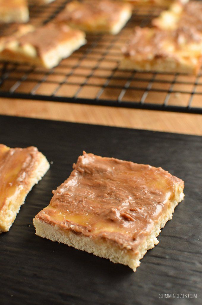 Slimming Eats Low Syn Millionaires Shortbread - vegetarian, Slimming World and Weight Watchers friendly