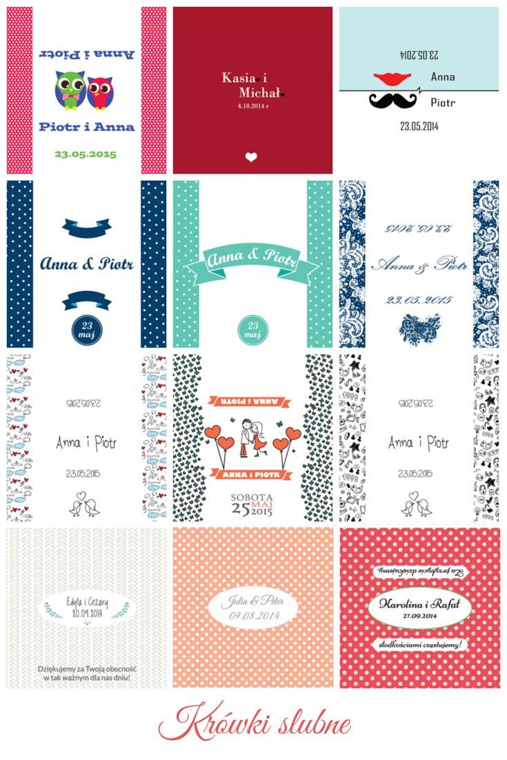 Sezon ślubny w pełni. Poniżej prezentujemy przykładowe projekty papierków ślubnych - wybierz jeden z gotowych projektów lub zaprojektuj własny!