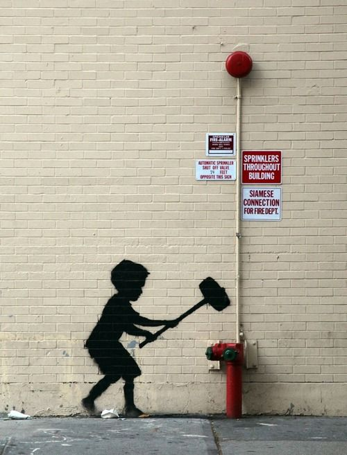 New Banksy at Upper West Side, NYC