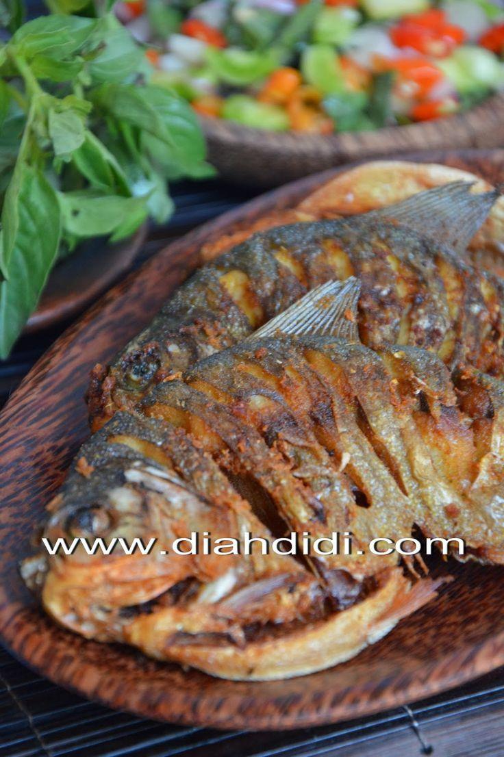 Sambel dabu2 dan ikan goreng