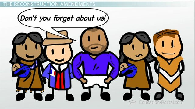 The Reconstruction Amendments: The 13th, 14th and 15th Amendments - Video & Lesson Transcript | Education Portal