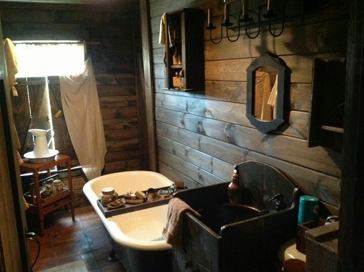 Country Bathroom Decor: Best 25+ Small Cabin Bathroom Ideas On Pinterest