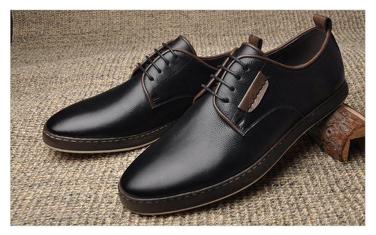 Genuine Leather Men Gentleman Shoes