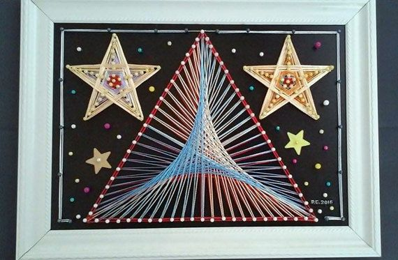 Constellation String Art by SmARTcraftBoutique on Etsy