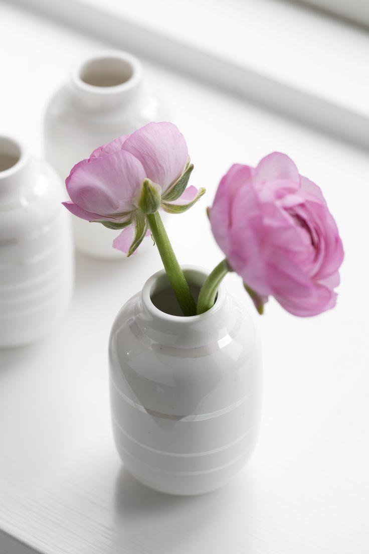 Omaggio-vasen fra Kähler i perlemor
