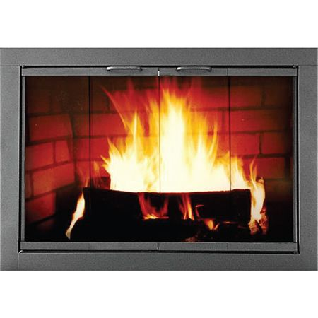 heritage fireplace glass door fireplace doors thermorite - Fireplace Fronts