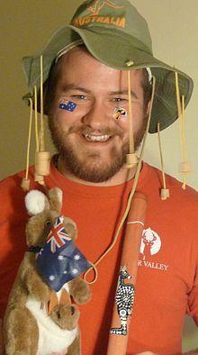 Cork hat - Australian #World Thinking Day