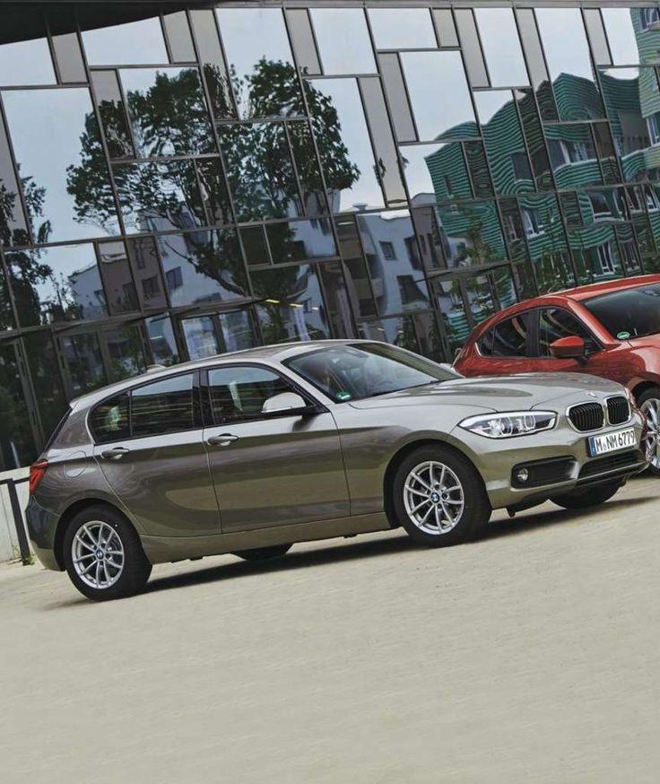 MIT BASISBENZINER: BMW 1ER GEGEN MERCEDES A-KLASSE, VOLVO V40, MAZDA3 Macht sparen hier noch Spaß?