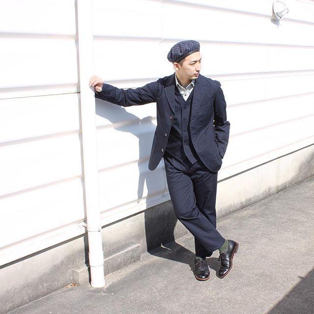 2018/02/20 20:19:25 explorer_jp explorer_jp[Explorer]Today's Outfit . CAP:#engineeredgarments OUTER:#naigelcabourn VEST:#naigelcabourn SHIRT:#naigelcabourn PANT:#naigelcabourn SHOES#alden . . 春の兆しを感じます、 こんな日は軽めの3ピースでお出掛けをば . Posted by explorer . . #explorer #explorerworks #explorernagoya #エクスプローラー #エンジニアードガーメンツ #ナイジェルケーボン #オールデン #18SS #madeinjapan #madeinuk #britishmade #国産 #madeinusa #usa #america #日本製 #ootd #styling #mensfashion #selectshop