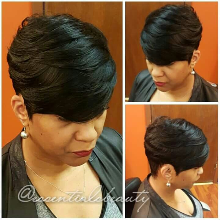 Quick Weave Short Hairstyles Magnificent 9 Best Cute Bob Cuts Images On Pinterest  Short Cuts Short Hair