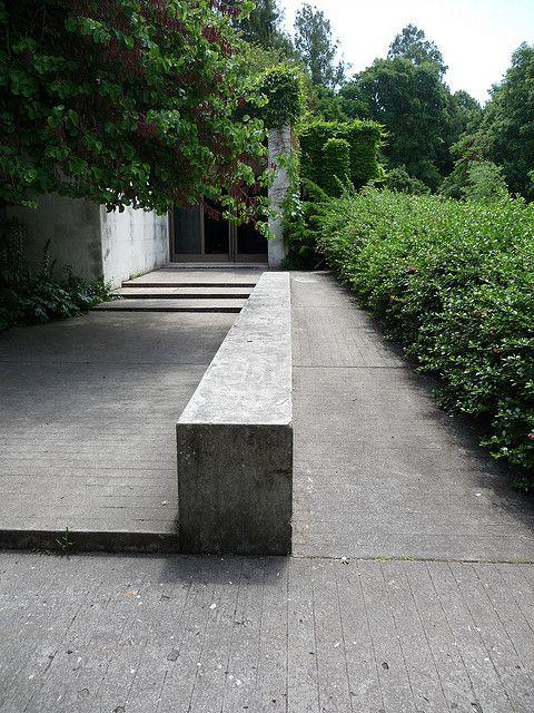 Gulbenkian, Lisbon, steps, ramp