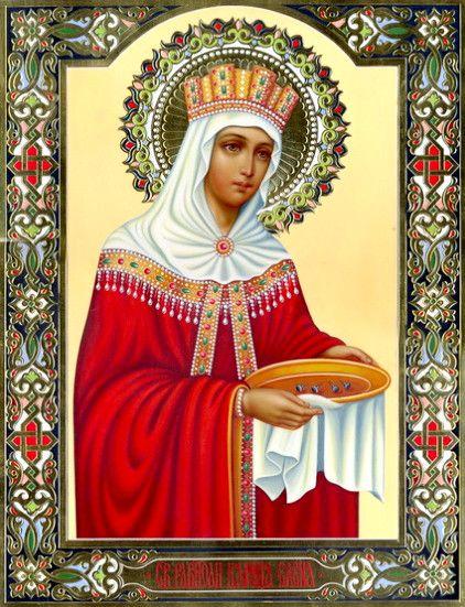 Елена, царица (рукописная икона)