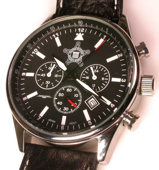 JGC6500 Chronograph - Watch given to the President by the Secret Service.