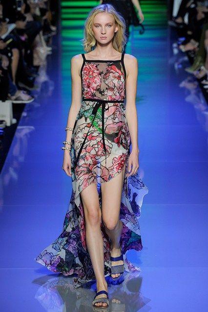 Elie Saab Spring/Summer 2016 SS16 Ready To Wear Paris Fashion Week #PFW