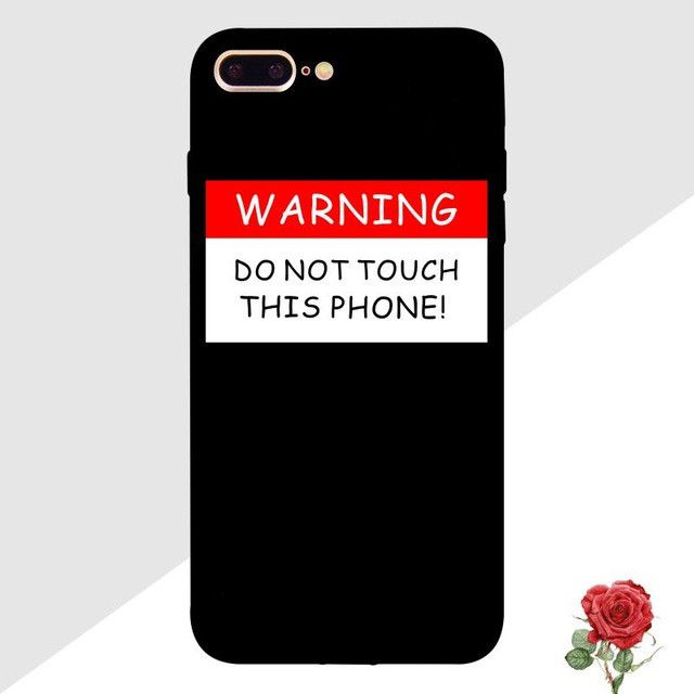 Fashion Red Lip Quotes Printed Soft Mobile Phone Cases For iPhone 6 6S Plus 7 7 Plus 5 5S SE Cute Cat Animal Back Cover Capa
