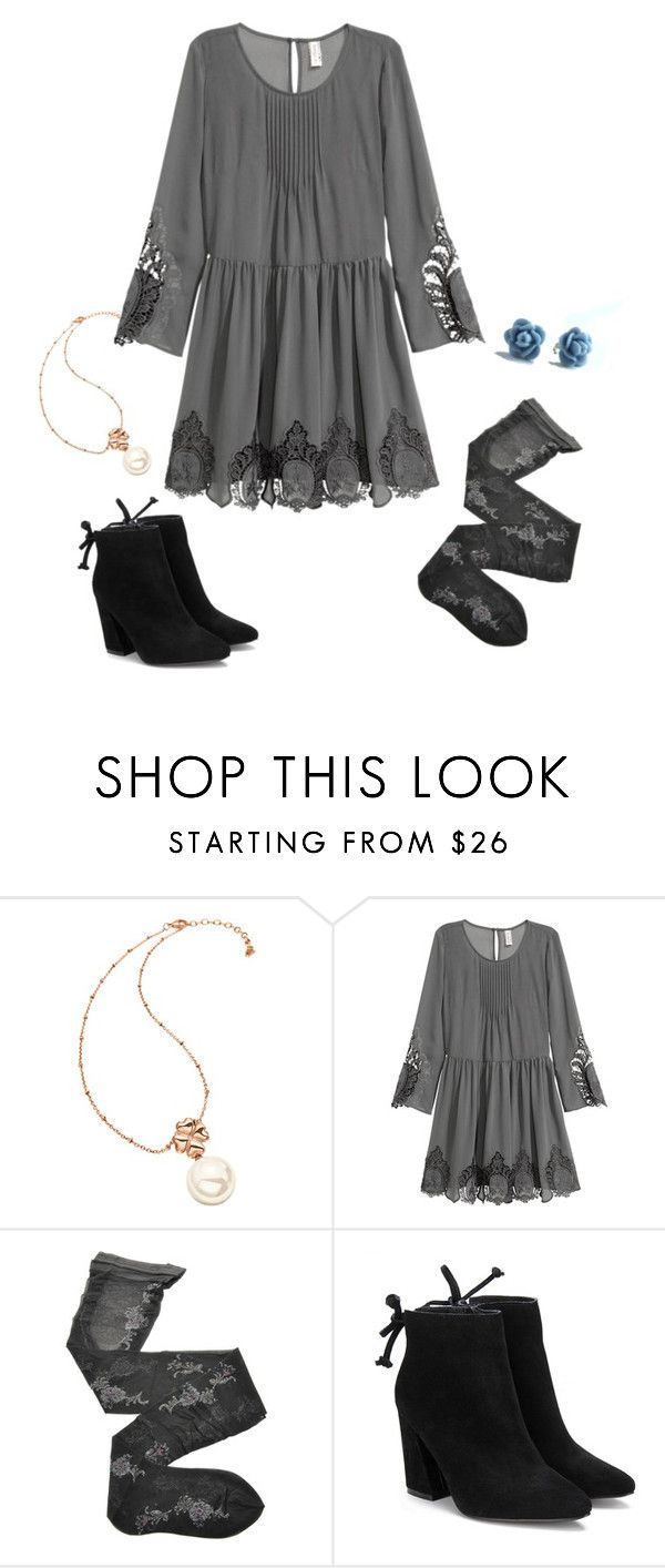 """Grace Russell 1.1 {Good Witch}"" by sarah-natalie ❤ liked on Polyvore featuring Folli Follie, H&M, Fogal, goodwitch, hallmark and GraceRussell"