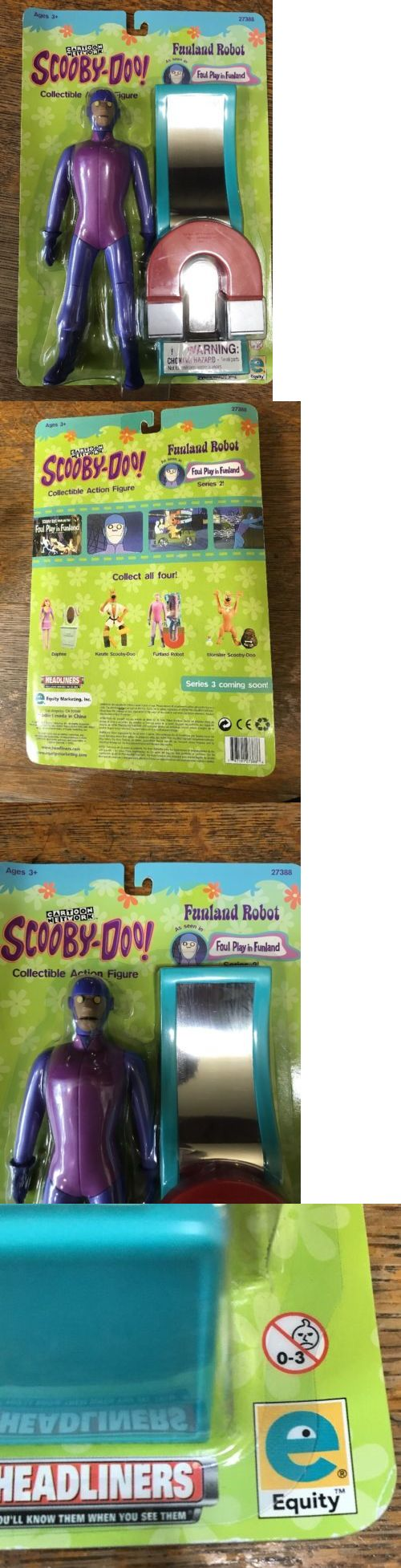Scooby-Doo 11747: New In Box Scooby Doo Runaway Charlie Funland Robot 8 , 2000 Equity Hanna Babera -> BUY IT NOW ONLY: $60 on eBay!