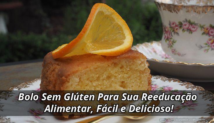 Esse bolo sem glúten é a prova de que quem tem intolerância também pode se alimentar muito bem com coisas deliciosas, ótima opção de sobremesa.