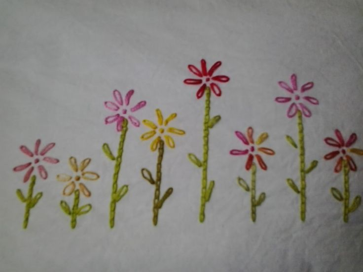 An Engineer's sewing life..: Easy embroidery pattern for ...