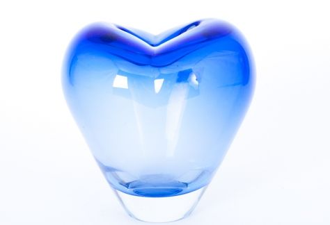 niebieski #wazon