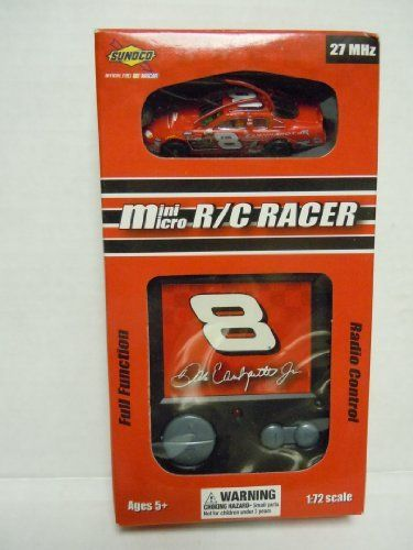 Nascar Mini Micro R/C #8 Racer Dale Earnhardt Jr. 1:72 Scale 27MHz by Team Up International, Inc.. $19.99. In Stock. Box has shelf wear. Mint in box