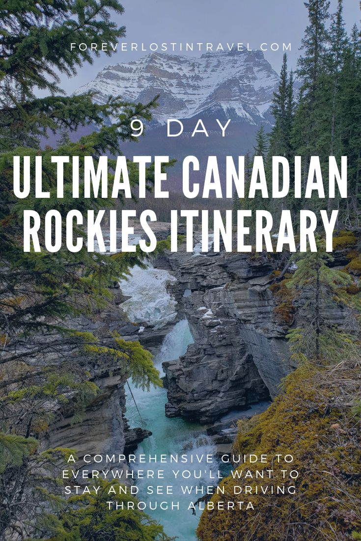 9 day guide to the Canadian Rockies