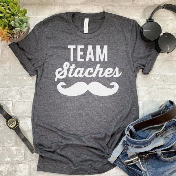Team Staches Shirt Keeper Of The Gender Gender Reveal Shirt Etsy Gender Reveal Shirts Womens Shirts Shirts