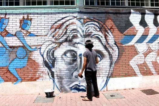 Gwen Stacy - A Street Art Documentary (part2) - Art People Gallery