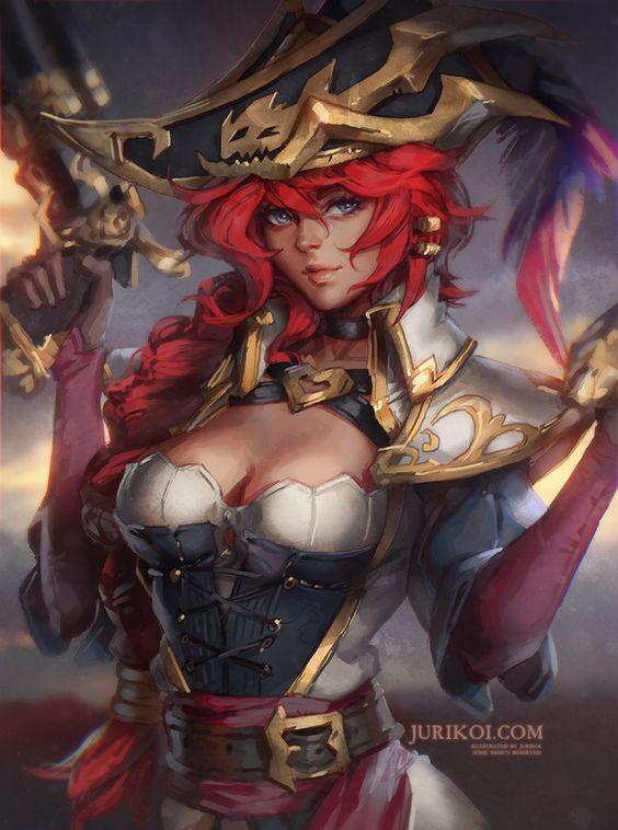 Captain Miss Fortune by jurikoi on @DeviantArt: