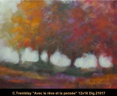 Original acrylic painting on canevas by Claude Tremblay #claudetremblay #art #fineart #figurativeart #artist #canadianartist #quebecartist #landscape #trees #originalpainting #acrylicpaining #balcondart #multiartltee