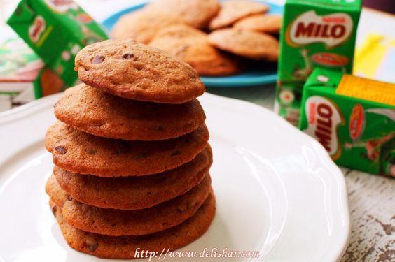 4 Chocolate Chips Milo Cookies
