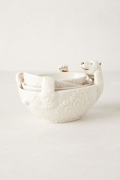 Arctic Measuring Cups #anthropologie JUST SHUT UP ANTHROPOLOGIE. STOP MAKING MY LIFE SO HARD.